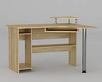 Угловой компьютерный стол компактный СУ -7