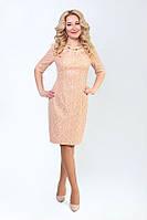 Модное платье с люрексом