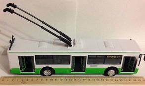 """Машина металева Тролейбус арт.9690 ABCD """"АВТОПРОМ"""", масш. 1:43, фото 2"""