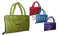 Коврик-сумка 2в1 (для пляжа и туризма) TY-4460 (р-р 1,8 х 0,6м х 1см, на змейке, цвета в ассорт)