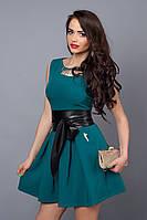 Платье мод 385-3 размер 44,46,48 морская волна (А.Н.Г.)
