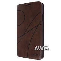 Чехол-книжка Oscar II для Samsung Galaxy Note 3 Neo (N7505) коричневый