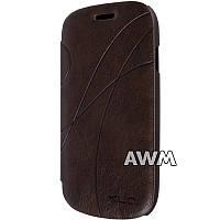 Чехол-книжка Oscar II для Samsung Galaxy S3 mini (I8190) коричневый