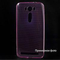 Чехол накладка силиконовый TPU Remax 0.2 мм для Samsung Galaxy S4 I9500 розовый