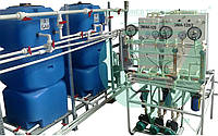Рекуперация щелочесодержащих сточных вод безреагентным способом.