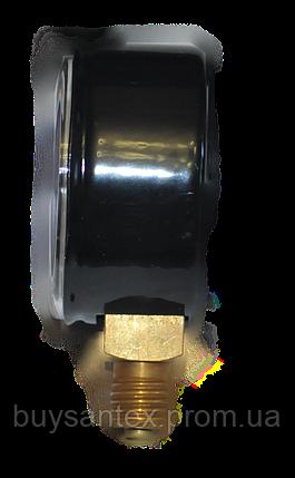 Манометр МП-50 16,0 МПа СО2 (углекислый газ) 160атм, фото 2
