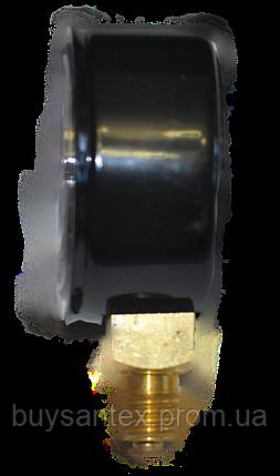 Манометр МП-50 1,0 МПа СО2 (углекислый газ) 10 атм, фото 2