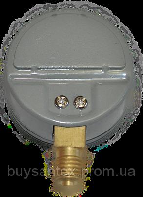 Манометр МП-50 0,4МПА С2H2 (ацетилен) 40 атм, фото 2