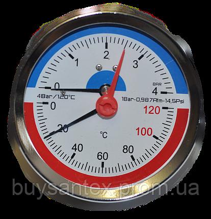Термоманометр 4 атм, фото 2