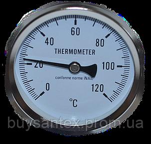 Термометр механический на трубный с пружиной., фото 2