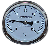 Термометр механический  с колбой 50 мм