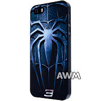 Чехол-накладка Spider-man 3 для Apple iPhone 5 / 5S черный