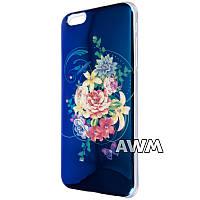 Чехол-накладка Сhameleon-flowers для Apple iPhone 6 plus / 6S plus