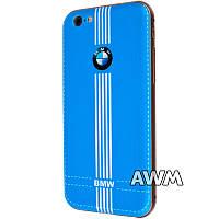 Чехол-бампер BMW для Apple iPhone 6 / 6S синий