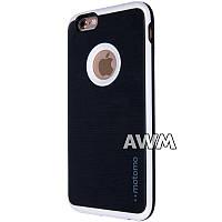 Чехол-накладка Motomo B&W для Apple iPhone 6 / 6S чёрный, фото 1
