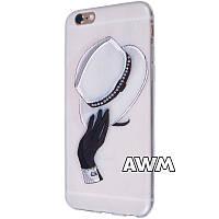 Чехол-накладка Hat для Apple iPhone 6 / 6S белый