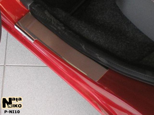 Накладки на пороги Premium Nissan Micra III 5D 2003-