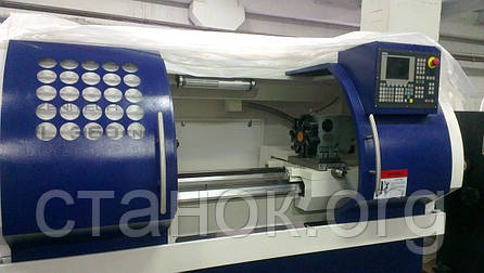 Zenitech WL 420 - 1000 Токарный станок с ЧПУ по металлу Siemens 88 D зенитек вл CNC, фото 2