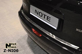 Накладки на пороги Premium Nissan Note 2005-