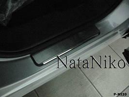 Накладки на пороги Premium Nissan Patrol IV 1997