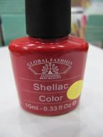 Гель-лак Global Fashion Shellac №38, 10 мл