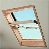 Мансардное окно Roto R45 740*1180 мм (дерево)