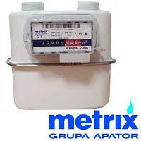 Счетчик газа мембранный Metrix Метрикс G 2,5