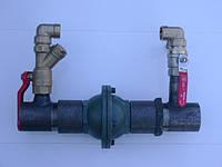 Байпас 2 дюйма короткий зі зворотнім клапаном