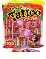 Жувальна гумка Crazy Gum Tattoo 100 шт.