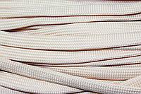 Шнур плоский 15мм (50м) св.беж, фото 1