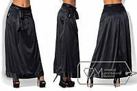 Длинная шелковая юбка в больших размерах и разных расцветках g-1515455