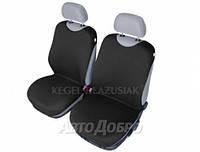 Чехлы майки на передние сиденье KEGEL закрытые черный