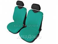 Чехлы майки на передние сиденье KEGEL закрытые зеленый