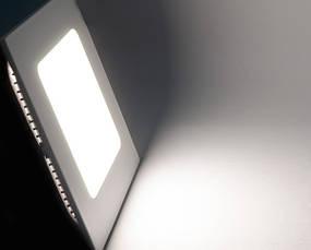 Светодиодный светильник, квадрат, 3W(нейтральный), фото 3