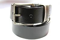 Ремень брендовый 'Calvin Klein' черный 40 мм