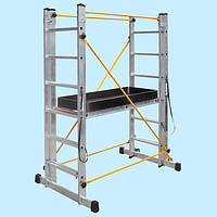 Подмости многофункциональные VIRASTAR 2x7 ступеней (4.3 м)