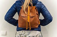 Стильный женский рюкзак «Глория» ручной работы