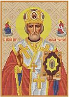 Схема для вышивания бисером икона Св. Николай Чудотворец КМИ 4145
