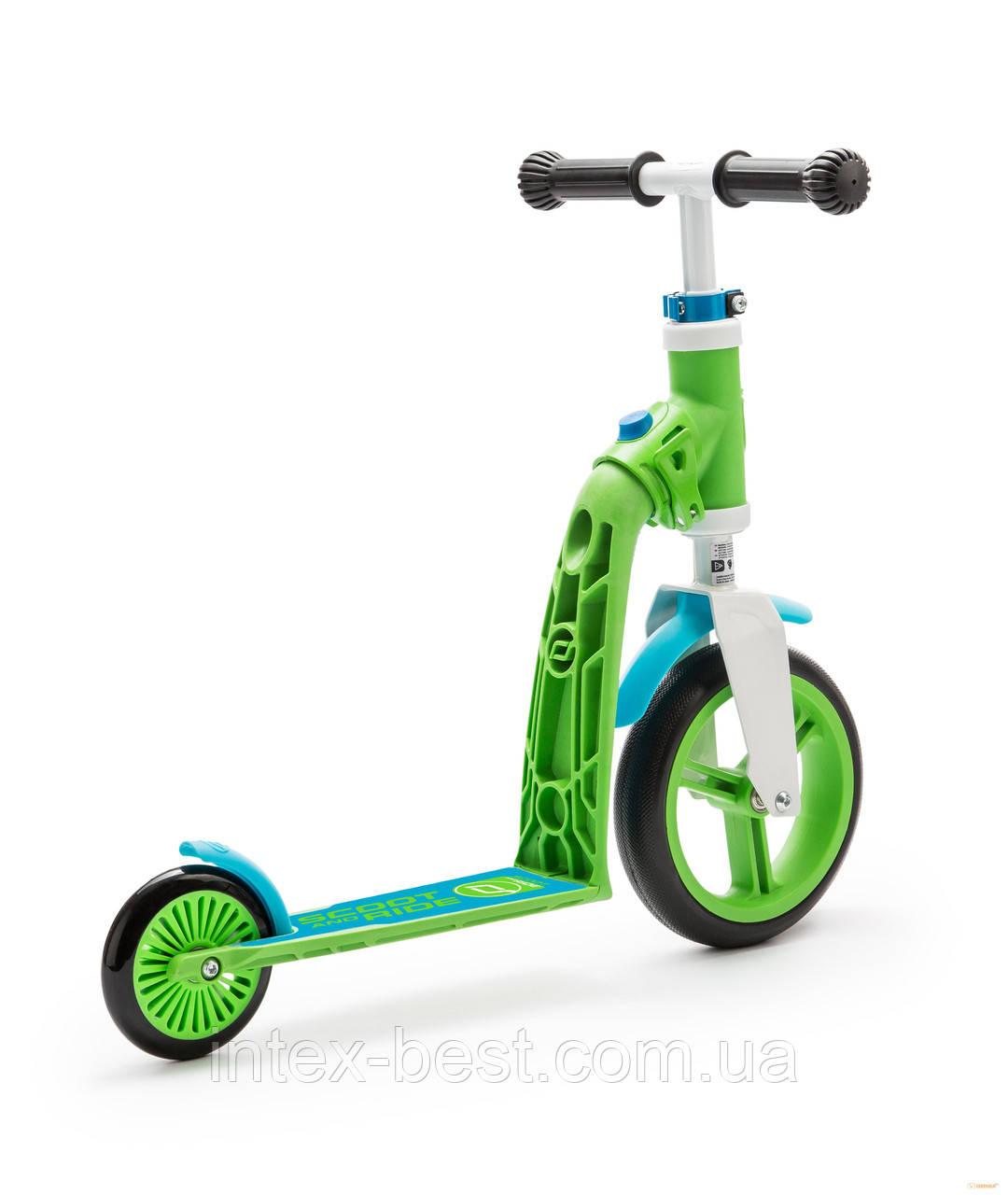 Самокат Scoot&Ride Highwaybaby Зелено-Синий SR-216271