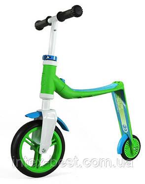 Самокат Scoot&Ride Highwaybaby Зелено-Синий SR-216271, фото 2