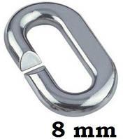 Нержавеющее сварное звено для цепи 8 мм