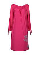 Модное женское платье длинный рукав