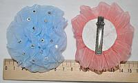 Цветные Бантики для волос со стразами (10 шт)