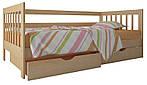 """Односпальная кровать """"Медея"""" из дерева (массив бука)"""