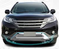 Комплект накладок из нержавейки Honda CRV 2012-, фото 1