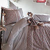 Подарок для девочки - постельное белье с плюшевым мишкой.