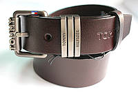 Ремень брендовый коричневый 'Tommy Hilfiger' 40 мм