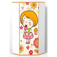 Детский угловой шкаф Мандаринка
