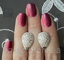 """Срібні сережки """"Дамські пальчики"""" 925 проби"""