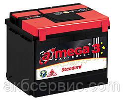 Акумулятор автомобільний A-mega 6СТ-50 Аз Standard